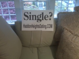 Single Lawn Sign